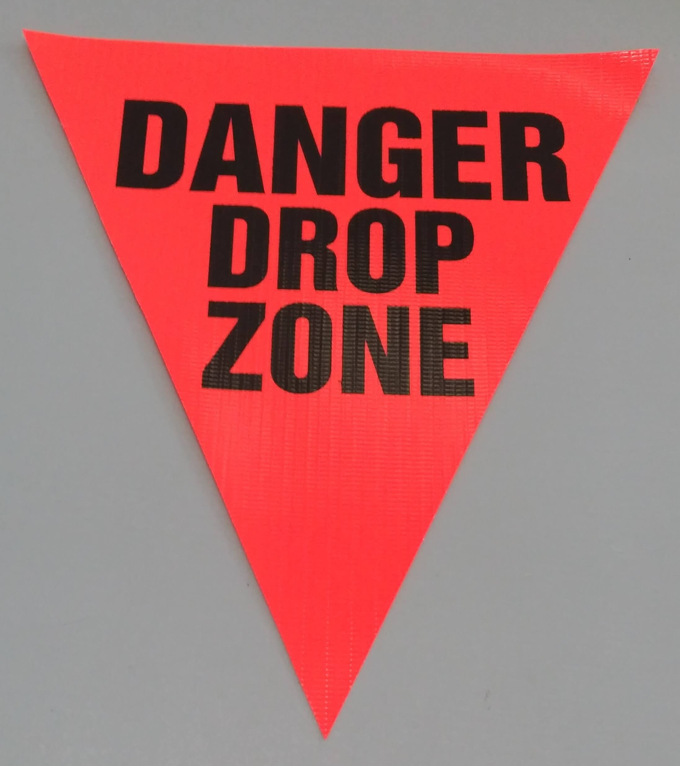 Danger Drop Zone (orange)