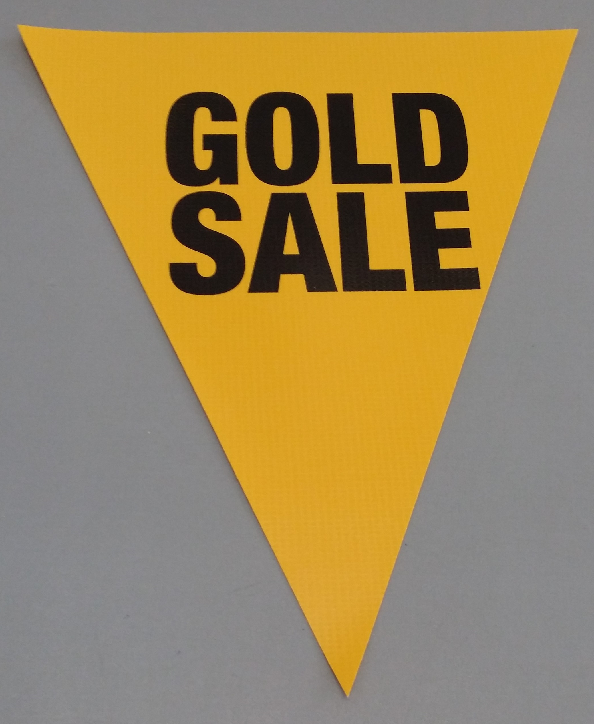 Gold Sale (yellow)