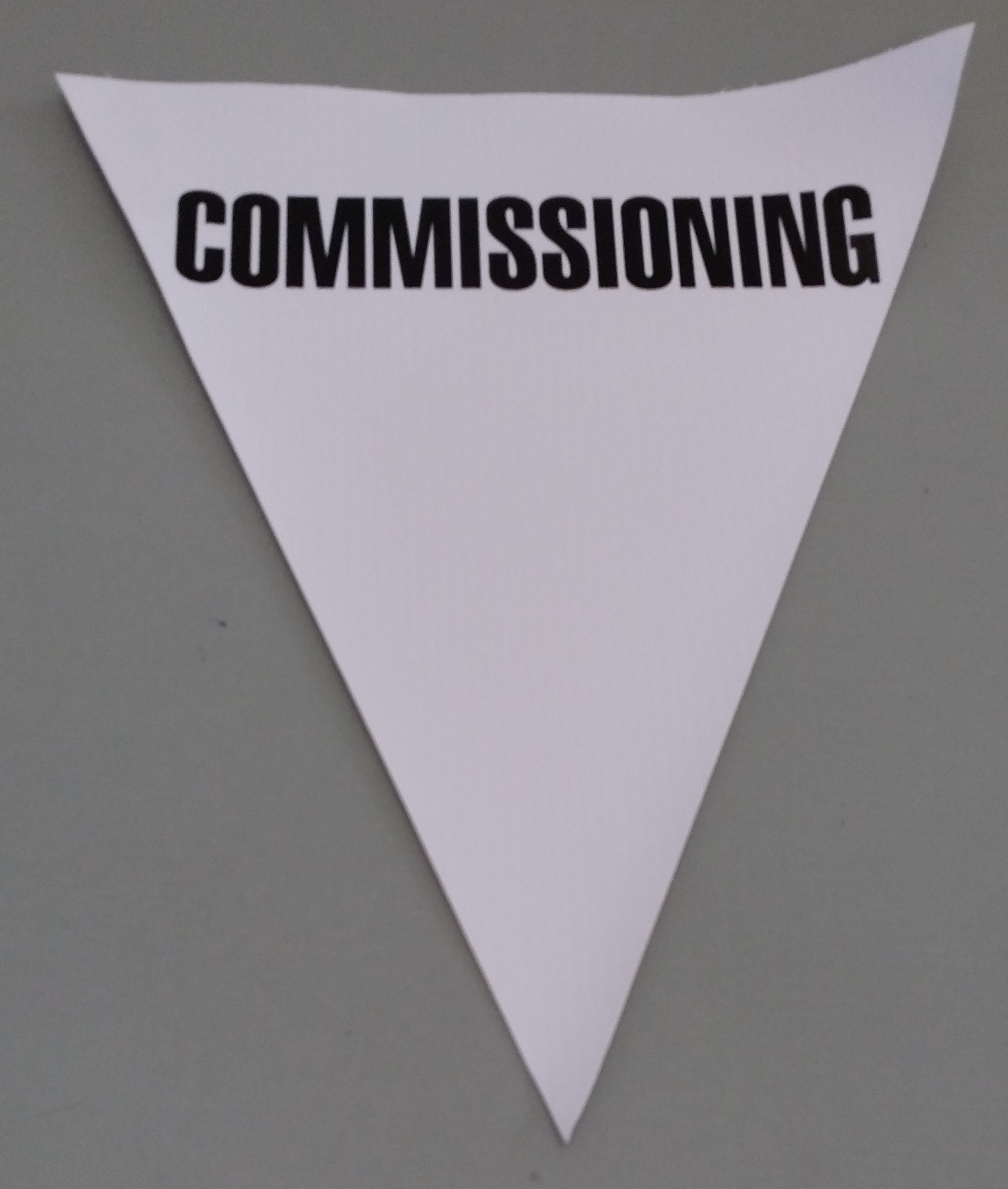 Commissioning (white)