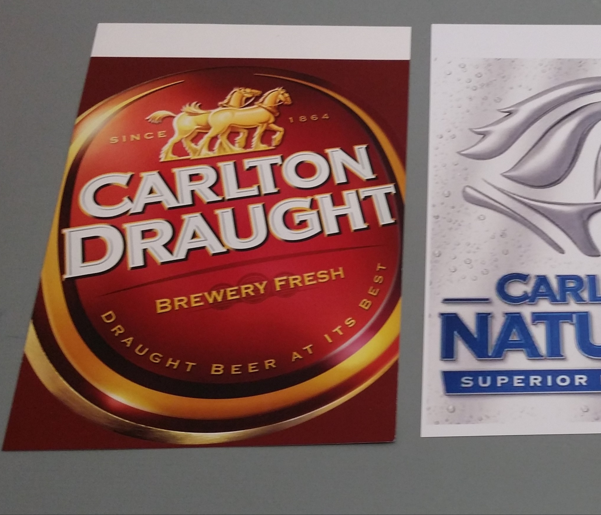 Carlton Draft Promotional Flags