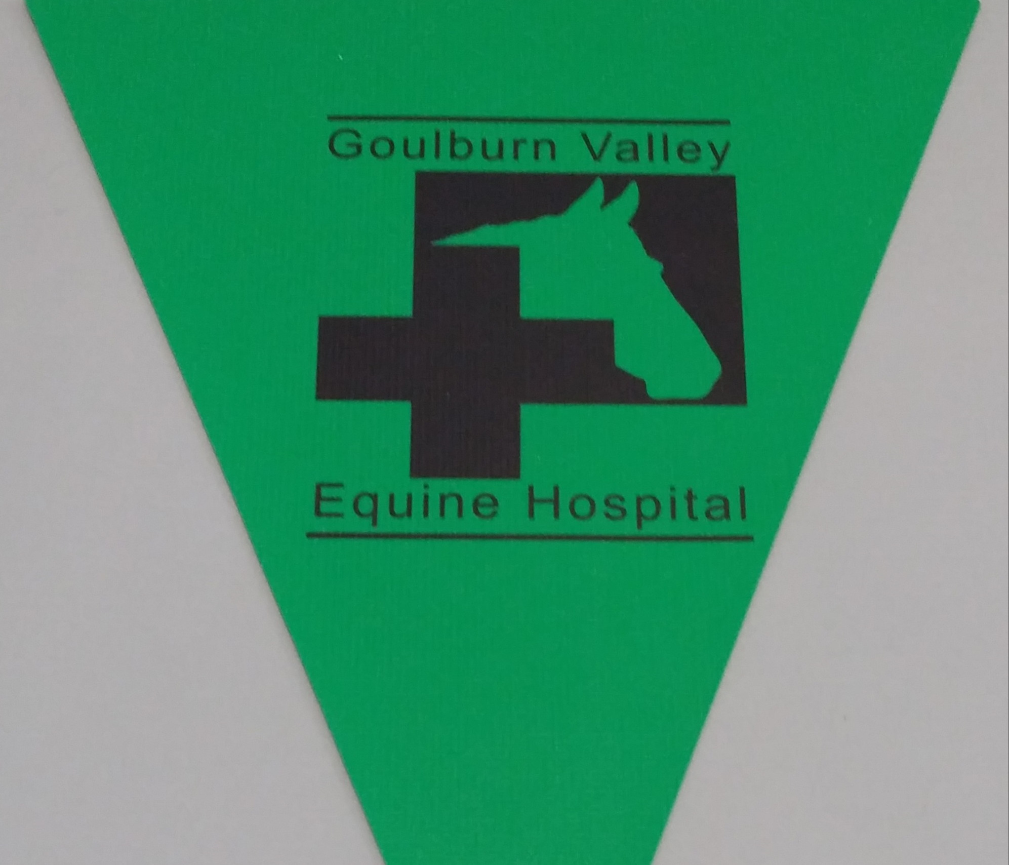 Goulburn Valley Equine Hospital (green)