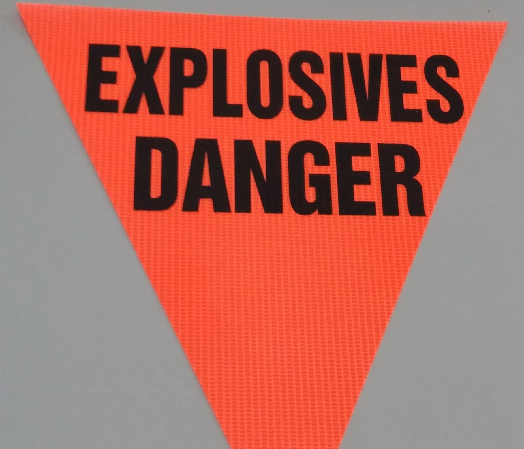 Explosives Danger (orange)